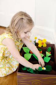 100均フェルトで作ろう 子供と楽しい家庭菜園 crasia クラシア