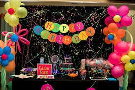 neon party ideas neon glow birthday party on kara s party ideas karaspartyideas