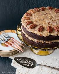german chocolate cake little sweet baker