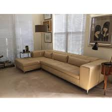 Side Table For Sectional Sofa Creative Perla Leather Sectional Sofa Aptdeco
