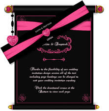 indian wedding invitations scrolls email wedding card royal scroll design 28 luxury indian