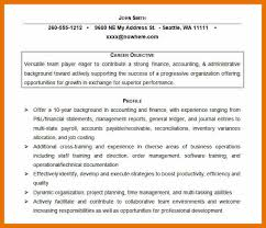 objective accounting resume accountant resume best accounting