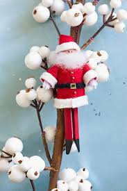 Better Homes And Gardens Christmas Crafts - how to make a peg santa to add a little of santa u0027s cheer to your