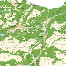 Map Of Austria And Germany by Map Of Greater Garmisch Partenkirchen Bavaria Germany And