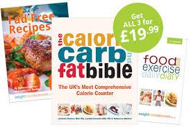 calorie carb u0026 fat bible