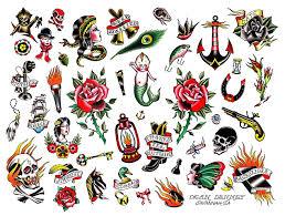traditional nautical tattoos designs