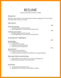 types of resume formats different kinds of resumes different resume types different resume