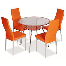 plastic round table and chairs dining room stunning small dining room ideas with wavy modern