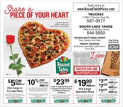 how much is a medium pizza at round table round table pizza south lake tahoe california menu prices