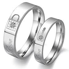 couples ring sets lavumo couples rings his hers wedding ring sets