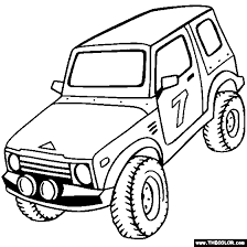 dune buggy coloring pages coloring