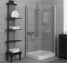 Simple Bathroom Bathroom Space Saver White