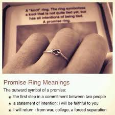 knot promise ring common white girl on things and knot rings