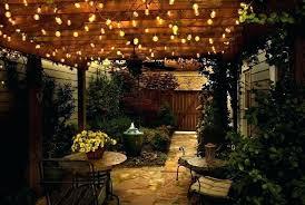 Patio Light Strands Best Outdoor Bistro Lights Commercial Cafe Lighting Images