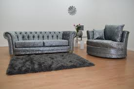 Chesterfield 3 Seater Sofa by Chesterfield Three Seater Sofa U0026 Swivel Chair U2013 House Of Sparkles