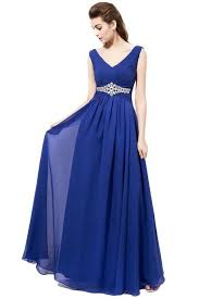 royal blue chiffon bridesmaid dresses royal blue bridesmaid dress on luulla