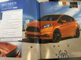 orange spice color 2017 fiesta st ordering info