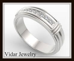 Wedding Rings For Men by Diamond Gold Wedding Rings For Men Vidar Jewelry Unique Custom