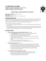 sample resume bookkeeper job best resumes curiculum vitae and