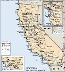 map of cities in california california cities students britannica homework help