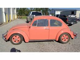 orange volkswagen beetle 1965 volkswagen beetle for sale classiccars com cc 1016523