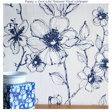 Blue And White Wallpaper by Blue And White Jacobean Wallpaper Wallpapersafari