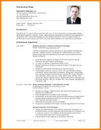 Block Style Letter Format Sample by Resume Cv Form Cv Format Free Cv Templates In Word Format Free