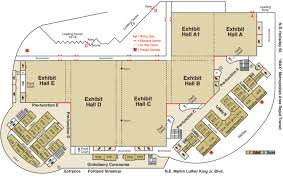 oregon convention center floor plan oregon convention center travel portland meeting planner