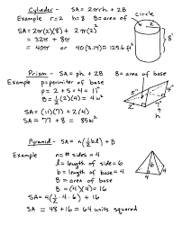 Surface Area And Volume Worksheets Grade 7 Sphere Surface Area Equation Jennarocca
