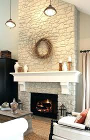 decorate fireplace mantel for fall decorated mantels images