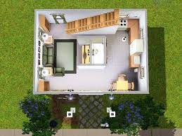starter home floor plans mod the sims micro starter home