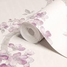 graham u0026 brown mercutio cream u0026 plum blossom wallpaper