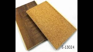 Laminate Flooring With Cork Backing 7mm Wpc Click Lock Flooring With Cork Backing Manufacturer Youtube