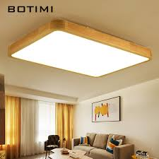Square Ceiling Light Fixture by Online Get Cheap Ceiling Lamp Wood Aliexpress Com Alibaba Group