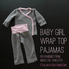 baby wrap front pajamas it s always autumn