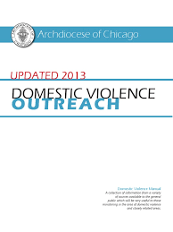 domestic violence outreach manual 2013 domestic violence violence