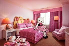 bedroom exquisite charming hello kitty room decor for kids