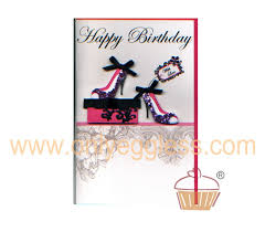 birthday cards with shoes only eggless happy birthday shoes with design cd138swl
