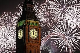 Celebration In Uk New Year S Celebrations 100 Arrested In As Thousands