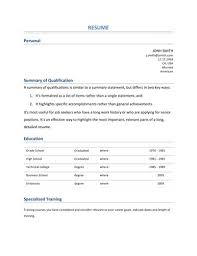 Sample Resumes For Students With No Work Experience by Resume Writing For Graduate Students