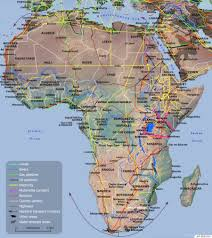 Africa Colonial Map by These Maps Show How Vast New Infrastructure Is Bringing The World