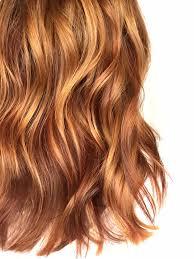 orange spice color cinnamon orange spice lightened red for summer hair color