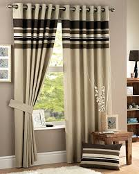 Chocolate Curtains Eyelet Curtina Harvard Lined Eyelet Curtains 46x54 117 X 137 Cm
