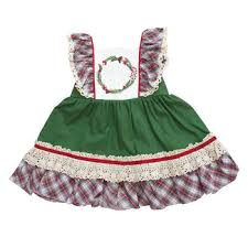 2018 Baby Girl Remake Boutique Dress Kids Christmas Clothing