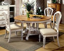 solid wood round dining table and chairs solid wood round dining