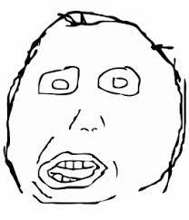 Derp Meme Face - derp face stickers zazzle