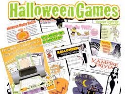 halloween printable games party games partyideapros com