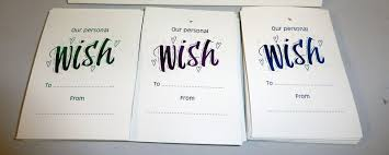 wishing tree cards inspired by script personalised wishing tree tags