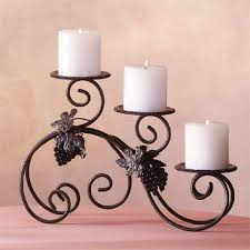 white and black color candle holders trendy mods