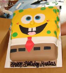hector u0027s custom cakes 3d spongebob cake